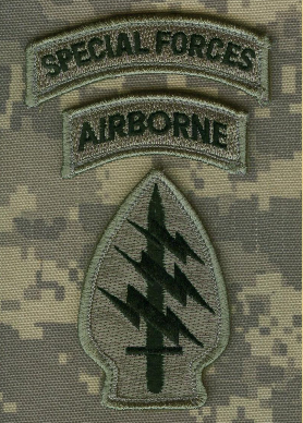 Special Forces Airborne Green Patch