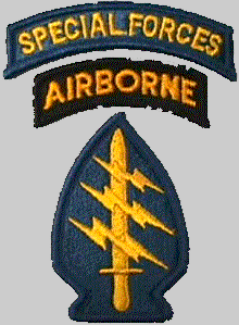 Special Forces Airborne Patch Color
