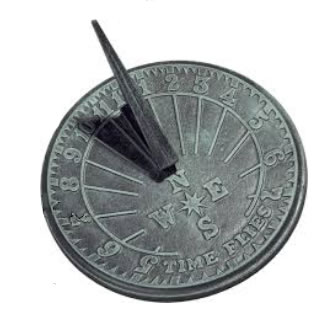 Picture of a sundial